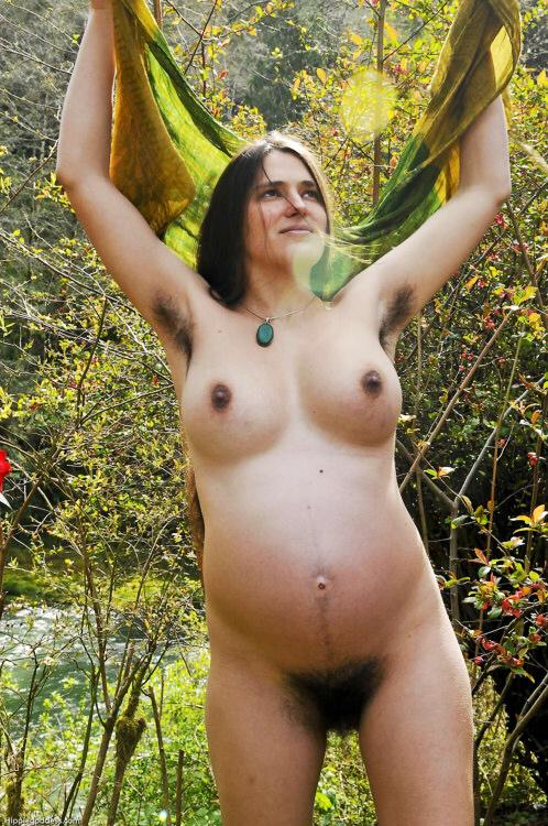 Mine Naked hippie girls outdoors