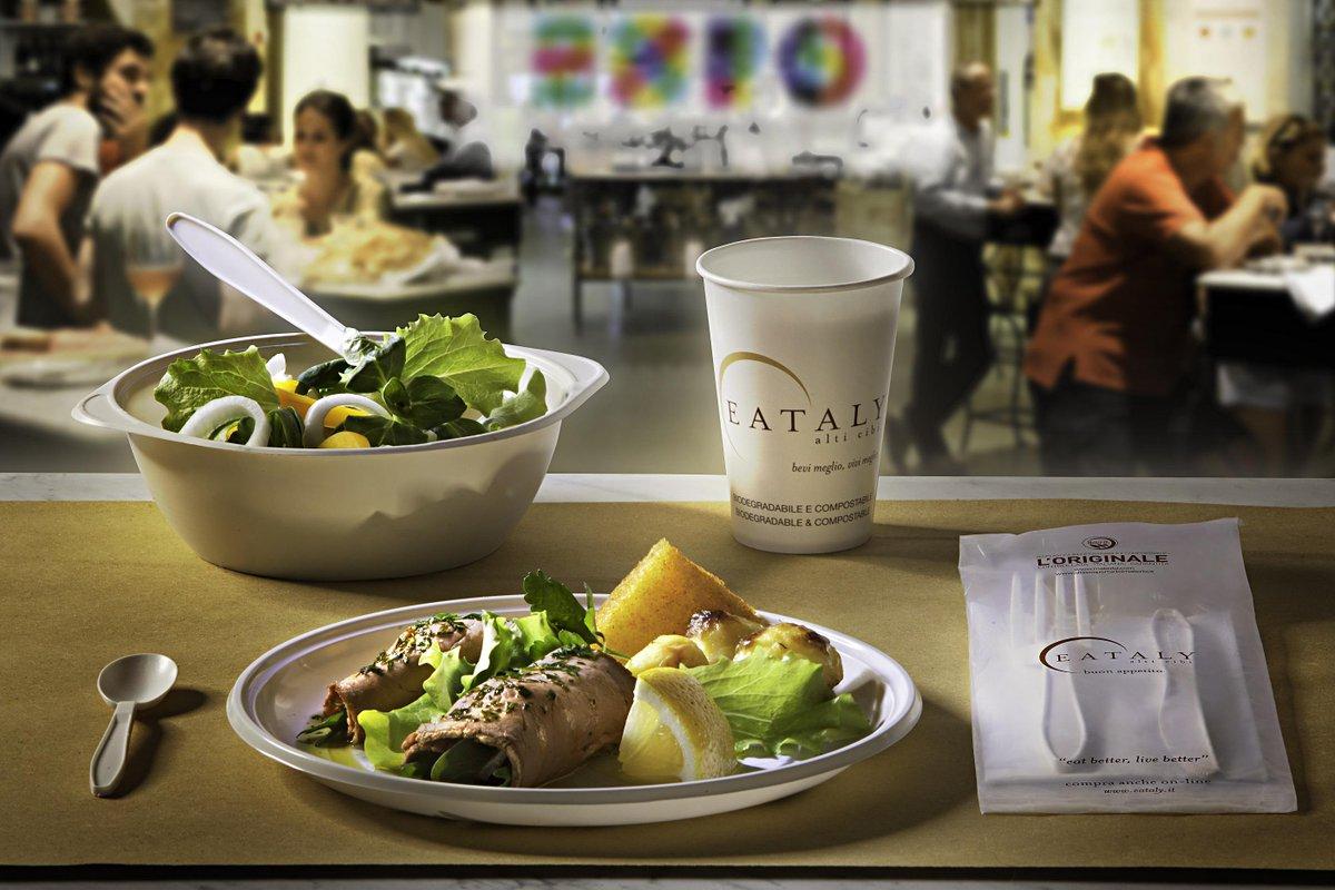 #Expo2015: nei ristoranti di Eataly solo stoviglie usa e getta Mater-Bi® http://t.co/HBHoQWXg1Q http://t.co/U5zrtO8QbO