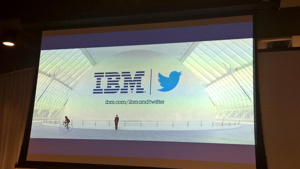 See what #IBM & #Twitter are doing together with regards to data at http://t.co/CvZ9PaOS6r. #socialdatauk #socialdata http://t.co/uu7cmMjjy7