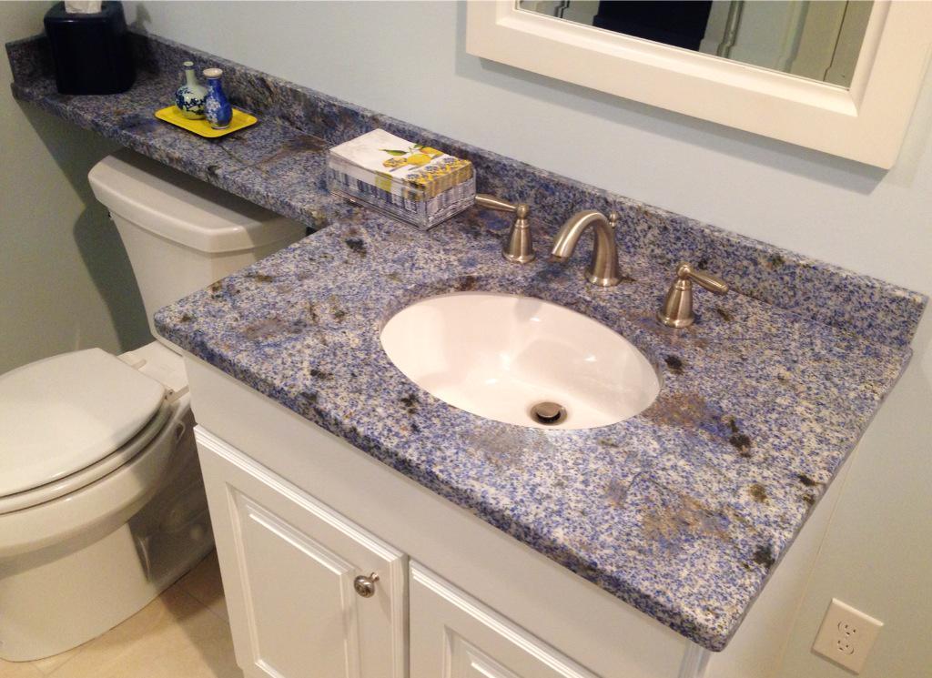 RT Marbleandgranit Bath Consider Wall Mount Faucet Or Banjo Vanity Top W Ledge Over Toilet KBtribechat Tco WIO47cMVj1