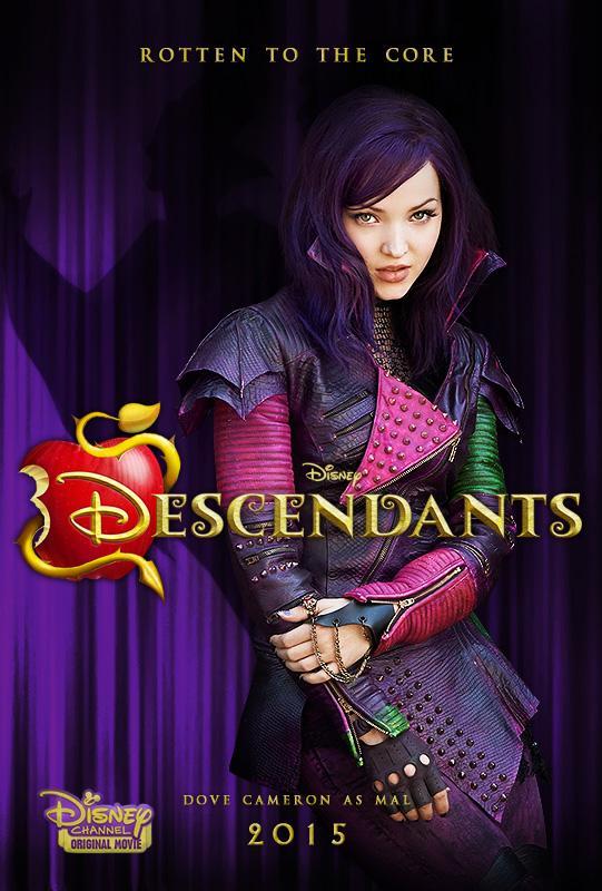"""Dove Cameron Org on Twitter: """"Disney's Descendants Poster ..."""