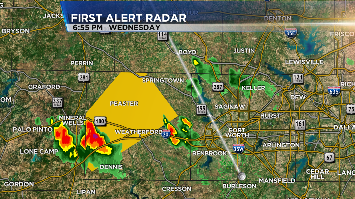 Parker Co Weather >> Nbcdfw Weather On Twitter Svr T Storm Warning For Parker Co