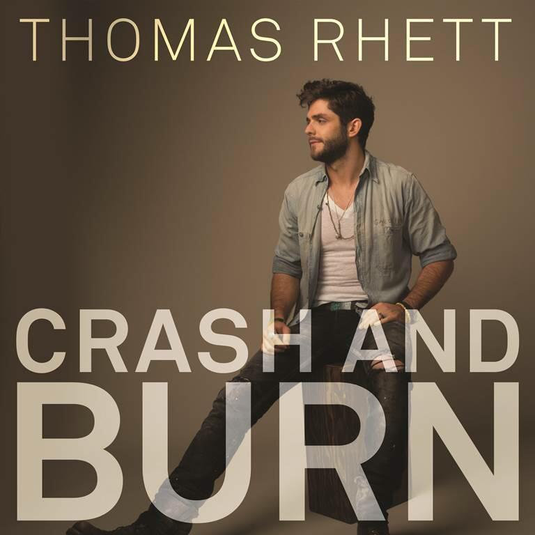 Thomas Rhett's 'Crash And Burn' Available Tomorrow!