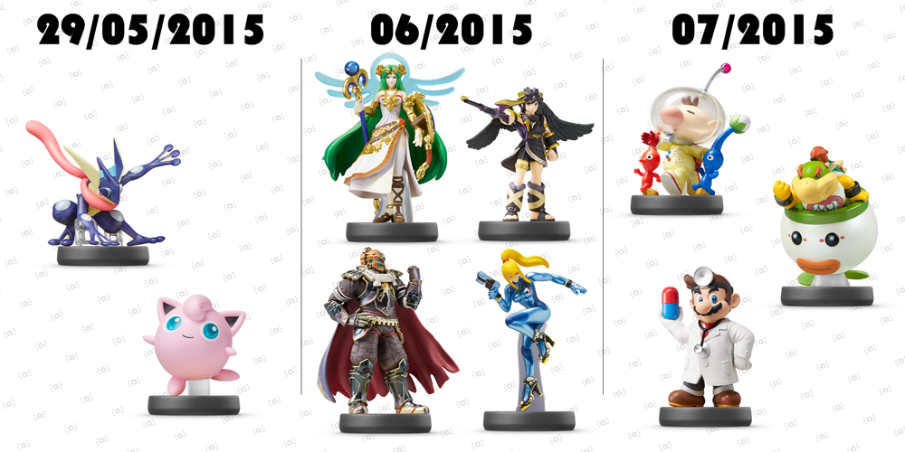 "Nintendo UK on Twitter: ""More #amiibo from the #SmashBros ..."