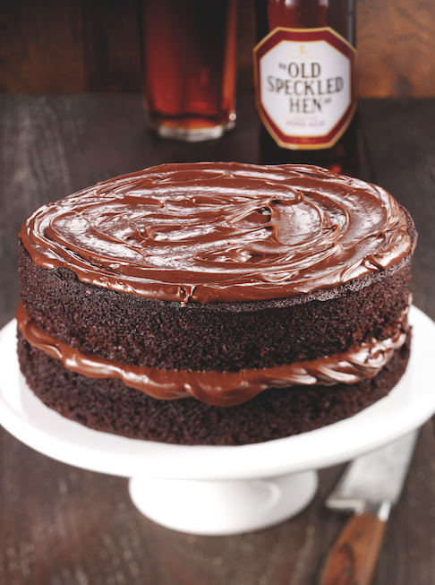 Bet you've not thought of beer in a cake! Old Speckled Hen chocolate cake, from @speckledhenry http://t.co/cqdbWuYa6J http://t.co/se3XzaJ61R