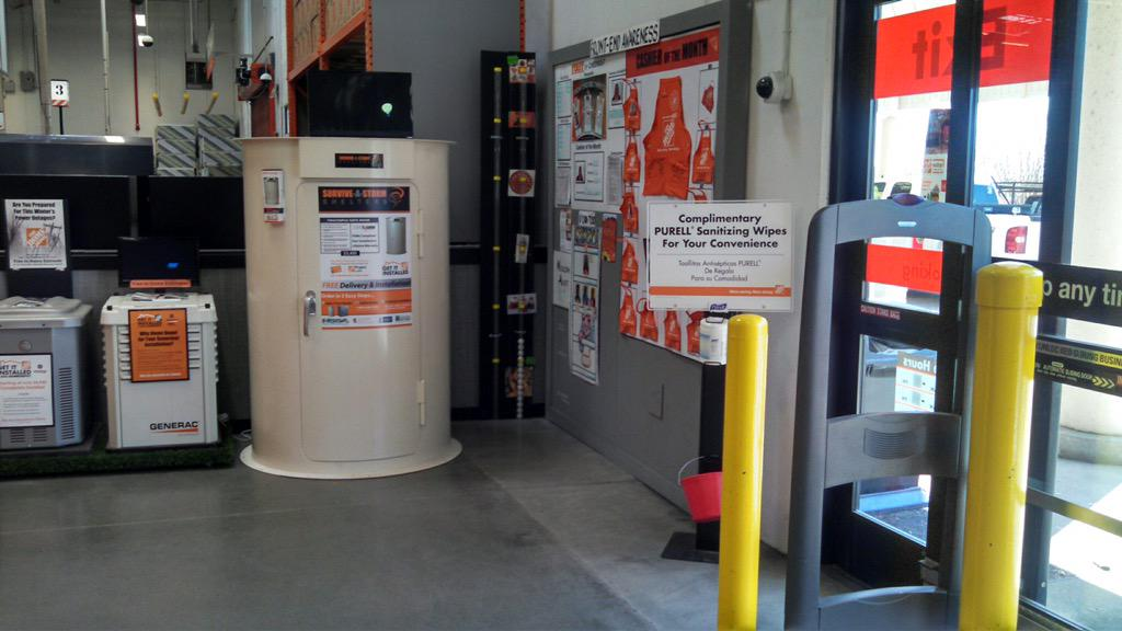 Columbus Home Depot on Twitter \ Survive a storm in one of these awesome storm shelters! Available at your Columbus Home Depot. //t.co/AgW7CUc0DO\  & Columbus Home Depot on Twitter: \