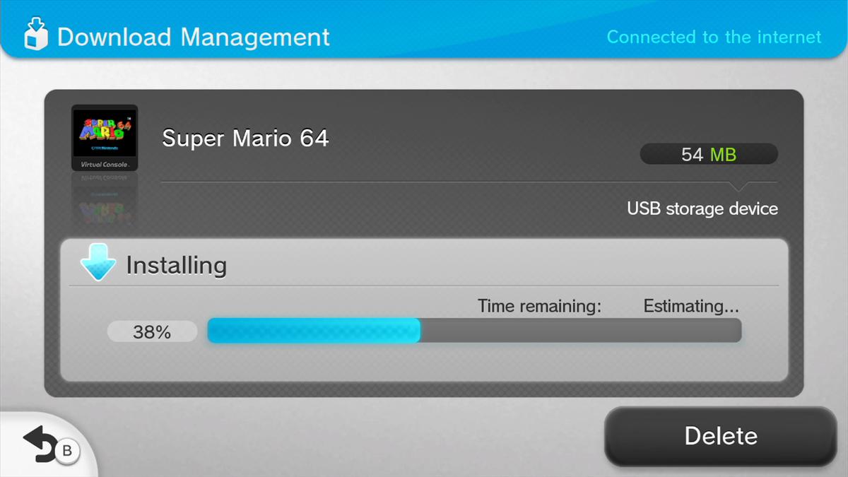 Super Mario 64 File Size : nintendo