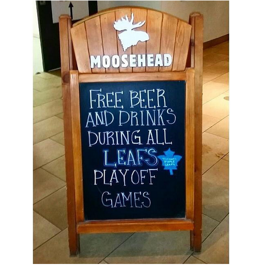 We'll hold you to that. This shot was taken at a bar in Montreal recently #AprilFools http://t.co/bCvMBt8x1R