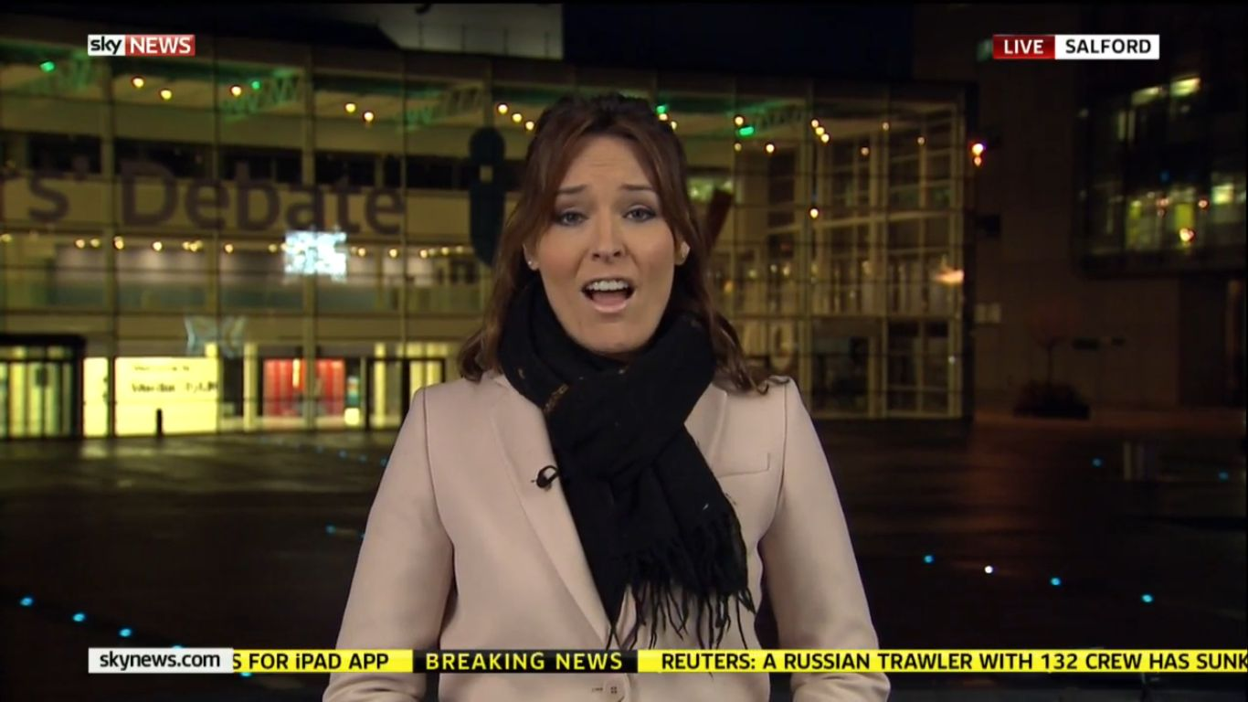 RT @tvlive: @SunriseIsabel and @EamonnHolmes in Manchester and London respectively for Sky News this morning. http://t.co/QKgEFuAe63