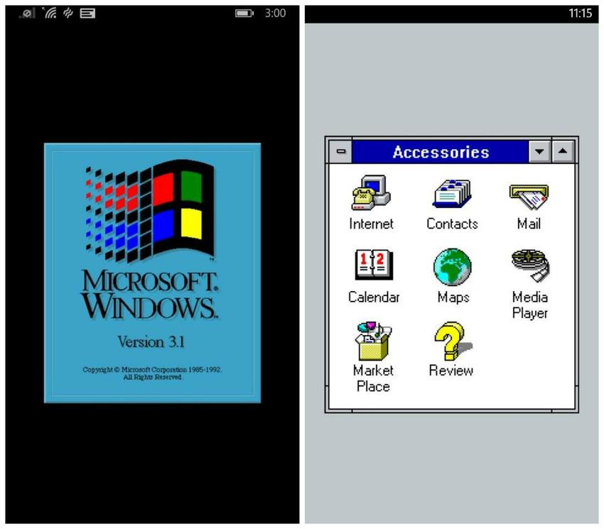 Microsoft's prank MS-DOS app may actually make you want to take a Windows Phone for a spin