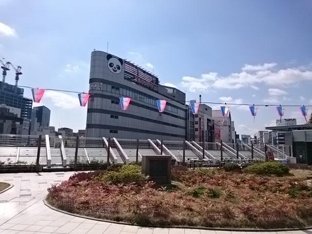 上野公園というとサクラ大戦のOPをおもいだすが上野のお山から銀座の方への眺めはこんなでさみしい http://t.co/3J7aMAIfJ8