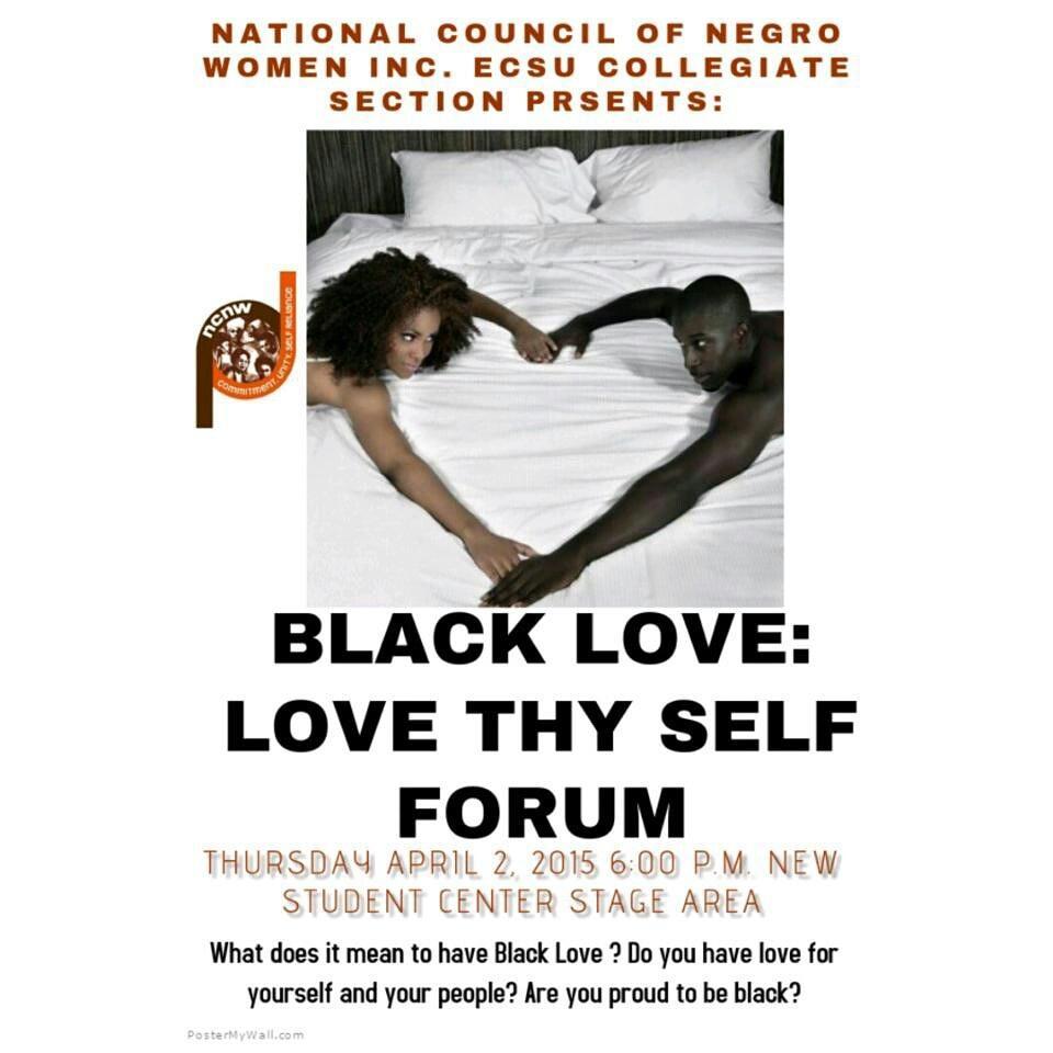 Ecsu ncnw on twitter what is black love come out and discuss the ecsu ncnw on twitter what is black love come out and discuss the true meaning of black love ncnw ecsu httptvaemjobxjl solutioingenieria Images