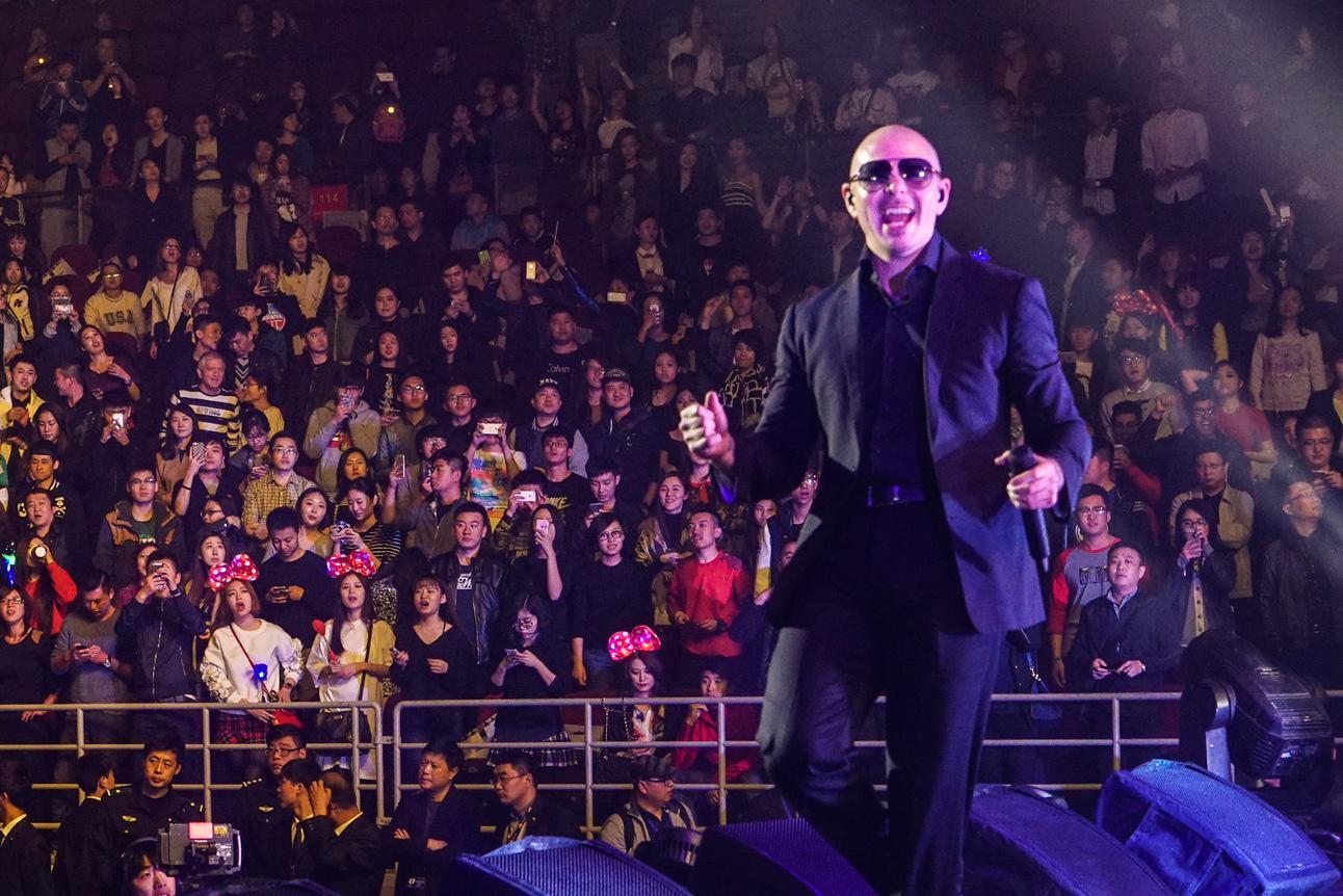 I'm definitely someone who enjoys life, yesterday I enjoyed performing at Workers Hall #Beijing #China #TeamPitbull http://t.co/WSEdgTuQZc