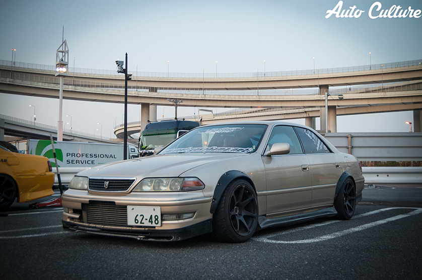 Toyota Mark 2 JZX100 JDM Effects Tuning Car 2013 | El Tony
