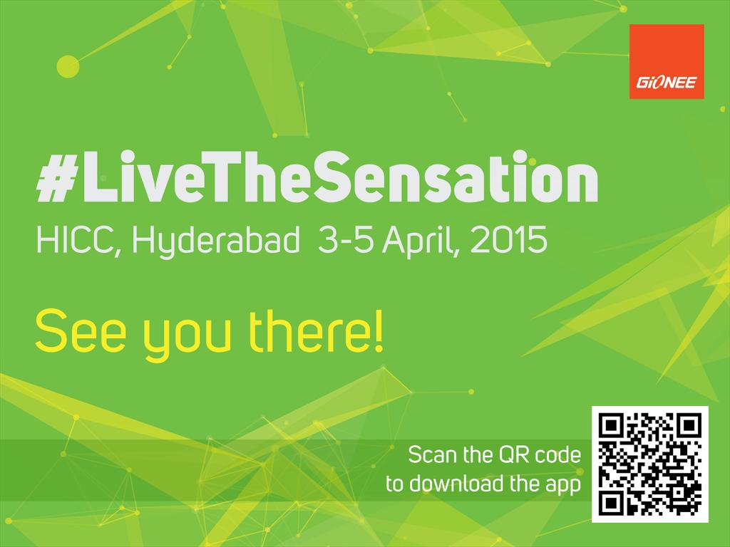 Cool Invite -> RT @honeytech: Scan to #UnveilTheSensation @GioneeIndia. Stay tuned to #LiveTheSensation  http://t.co/ZKD8cLxEaC