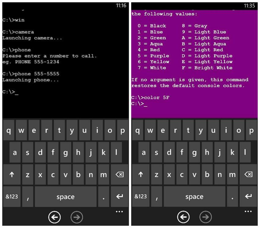 Microsoft's MS-DOS app will make you actually want a Windows Phone:
