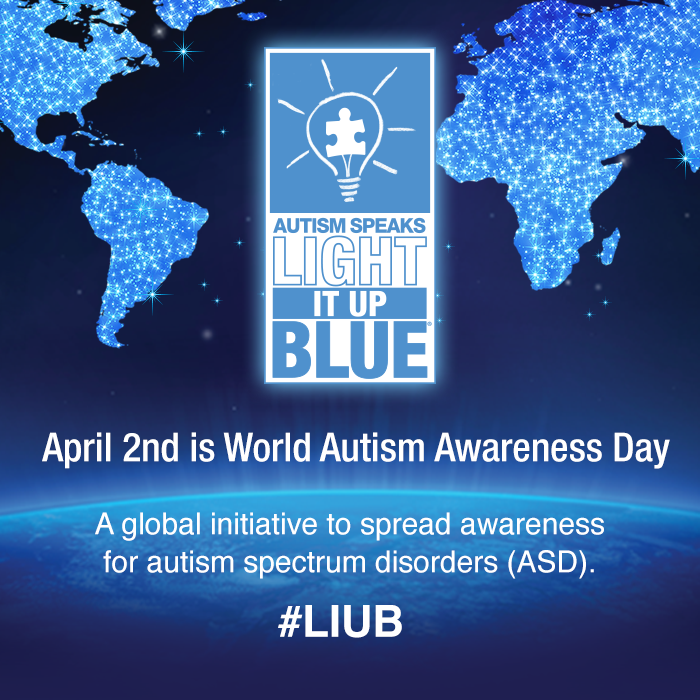 Celebrities Who Went Blue on World Autism Awareness Day! | News ...