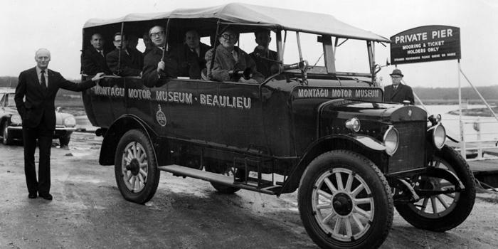 Thumbnail for Over here… an American (Charabanc) in Britain
