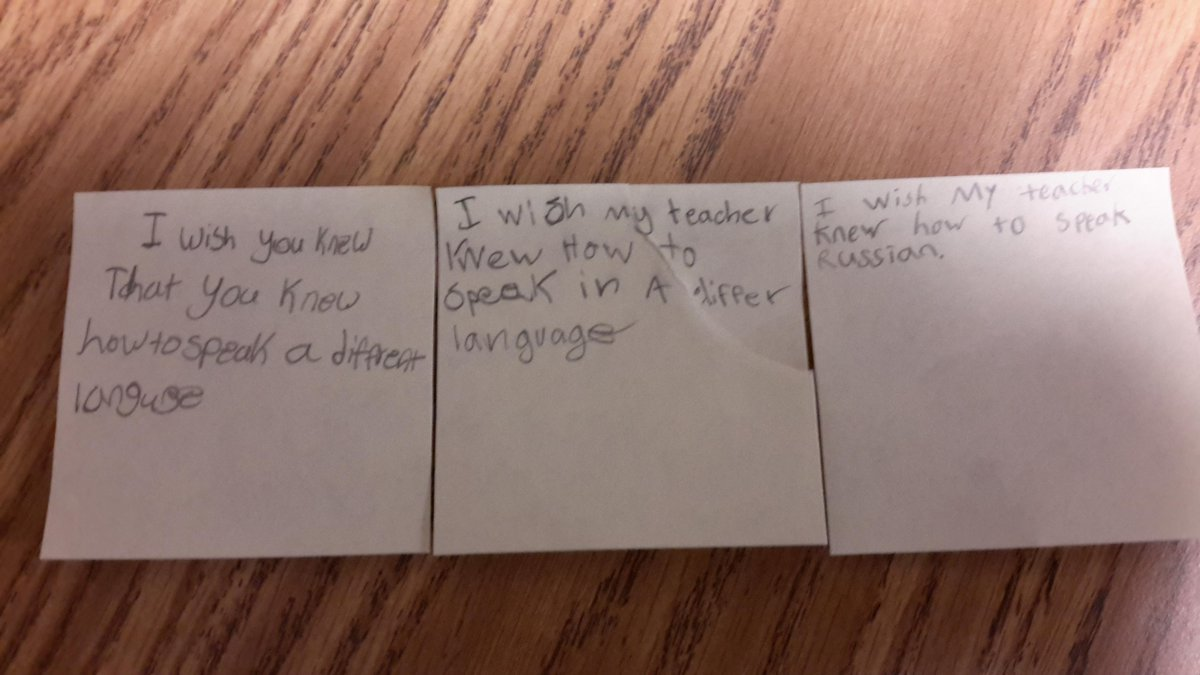 #Iwishmyteacherknew another language. Ss want foreign language in elem class @WorldLang_HCS http://t.co/kqWKHnw2qZ