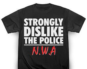 """Strongly dislike the police."" #nwa #straight #outta #compton @mcrencpt @WESTCOASTDOC http://t.co/5pzP9f4mKq"