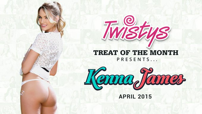 RT @Twistys: Did you see our new Treat of the month? It's the stunning @kennajames21 #TOTM #April #Treatofthemonth