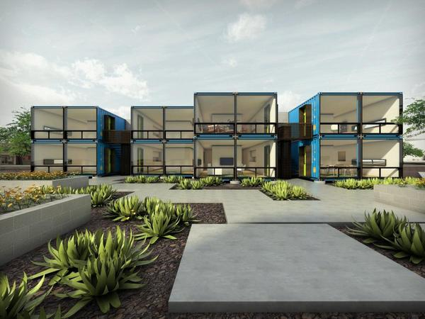 Care to live in a shipping container? Now you can near @downtownphoenix -- http://t.co/nsI0V405TJ http://t.co/gBPc43BbgR