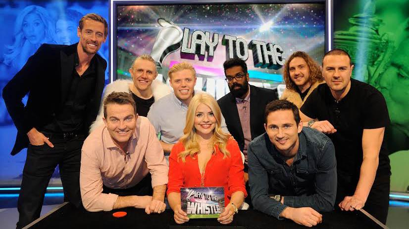 RT @itvpresscentre: Holly Willoughby is joined by Bradley Walsh and Frank Lampard in Play To The Whistle > http://t.co/RzzbNa8CcI http://t.…