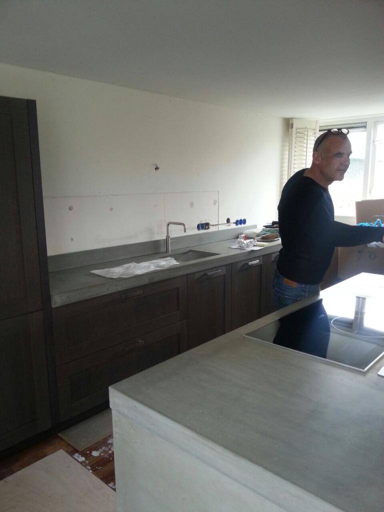 """grando keukens  bad on twitter """"referentie keuken met beton, Meubels Ideeën"""