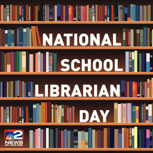 Today is national school librarian day! give them a thank ...