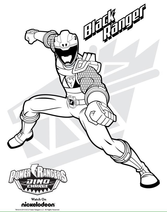 morphin k on twitter powerrangers dinocharge black pink green and blue coloring pages
