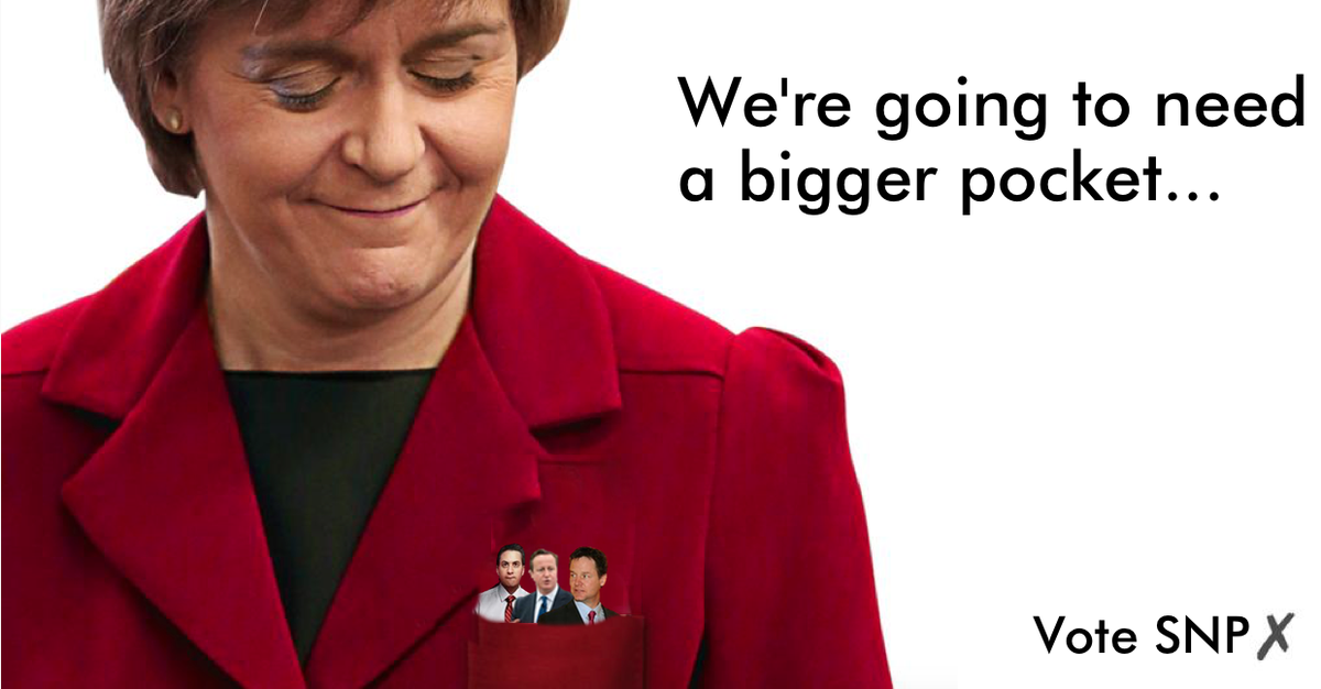 """@BhoysofCroydon: ""@ChristinaSNP: ""@teechur: We're going to need a bigger pocket… #leadersdebate http://t.co/mqaC39XhI0"""" > about right"" x2"