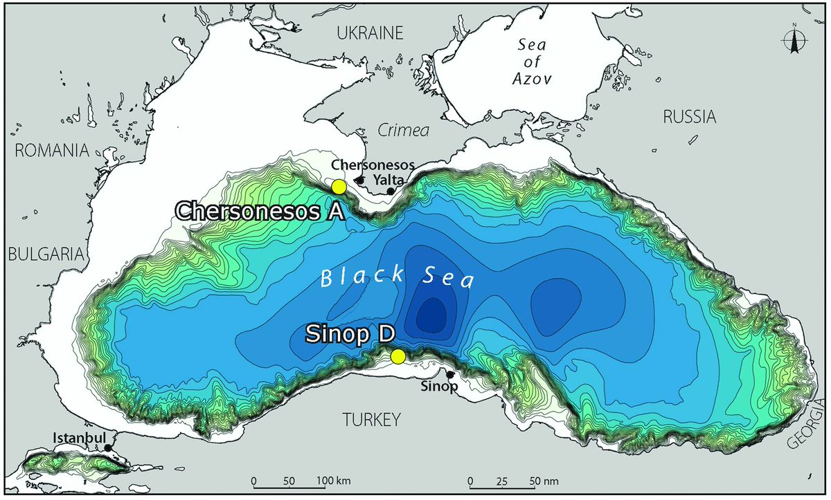 Black Sea Flood: how a freshwater lake became the Black Sea 98