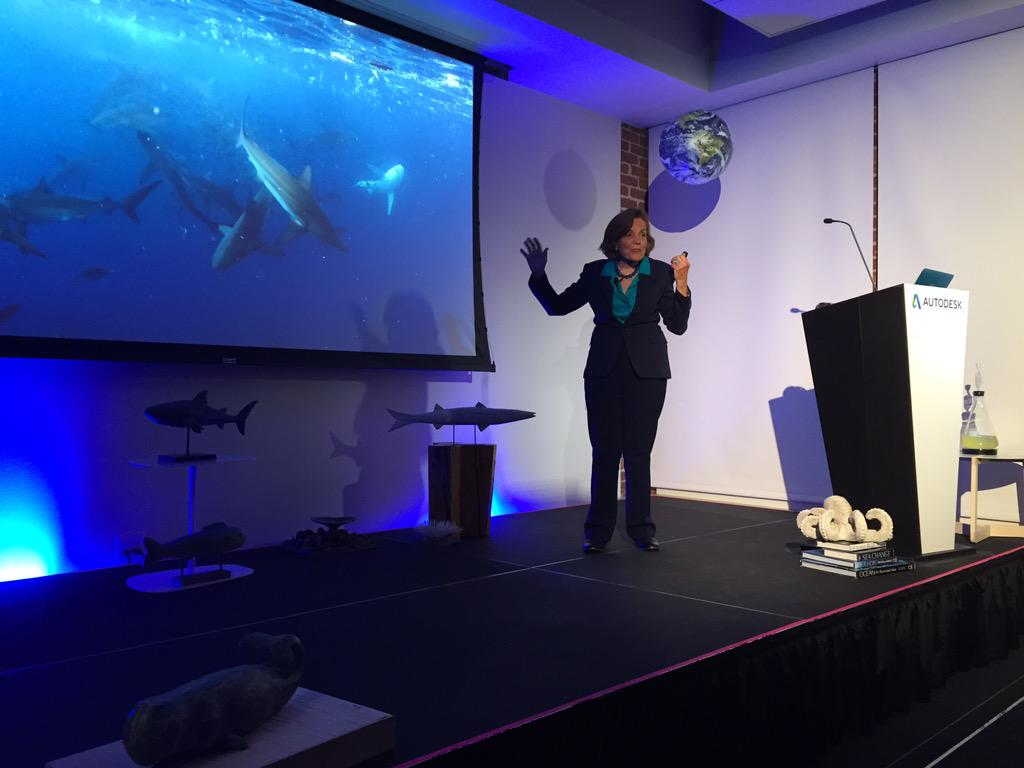 The ocean is where most of life on Earth is. @SylviaEarle #designnight http://t.co/Nnk2a6SOFv