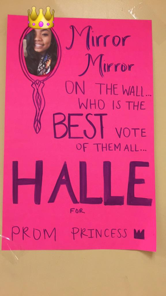 halle berry on twitter quotmy poster cute so vote for me
