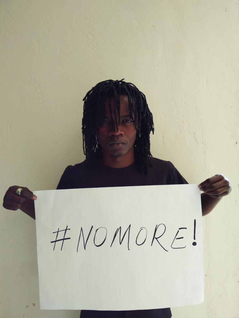 Losing Kenyan lives shouldn't be normal #NoMore JOIN ME! http://t.co/p7jQeeffAK