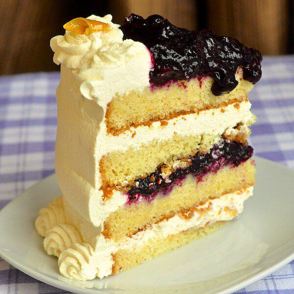 #Lemon #Blueberry Cream Cake - another outstanding idea for #Easter dinner dessert. #foodporn http://t.co/QadDWypmDu http://t.co/4c0JxCRJhj