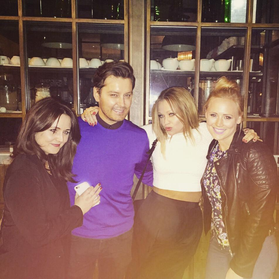 What's better than a night out with 1 Walsh?A night out with all 3 @KimberleyJWalsh @SallyLWalsh @amywalsh27