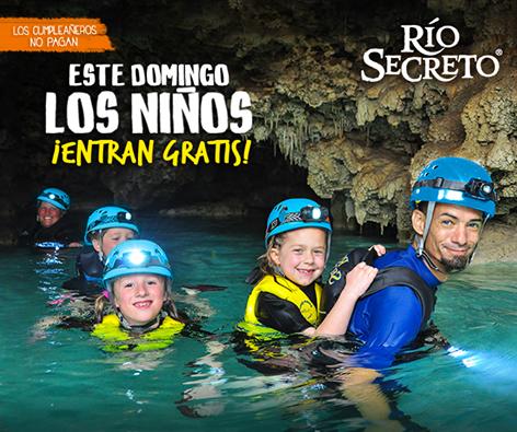 Este domingo los niños entran gratis a @riosecreto  http://t.co/v4R2hyRrWL http://t.co/6CVqcLHNYN