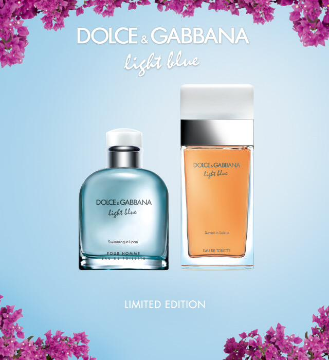 The New Limited Editions Of Light Blue Sunset In Salina And