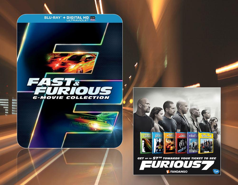 #Furious7 is in theaters now! To celebrate, 1 fan will win the Fast & Furious 6-movie DVD collection! RT/F to enter! http://t.co/RXDfUj5jC9