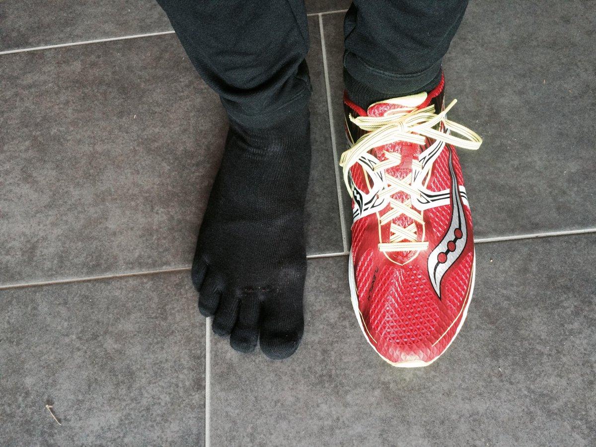 Knitido Zehen Füßlinge Track & Trail Zero, atmungsaktive