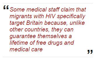 #NHS pleads budget poverty yet spends £1,000,000 treating EACH immigrant with #HIV: http://t.co/l7HWd6IUDt VOTE #UKIP http://t.co/05He0KpP7e
