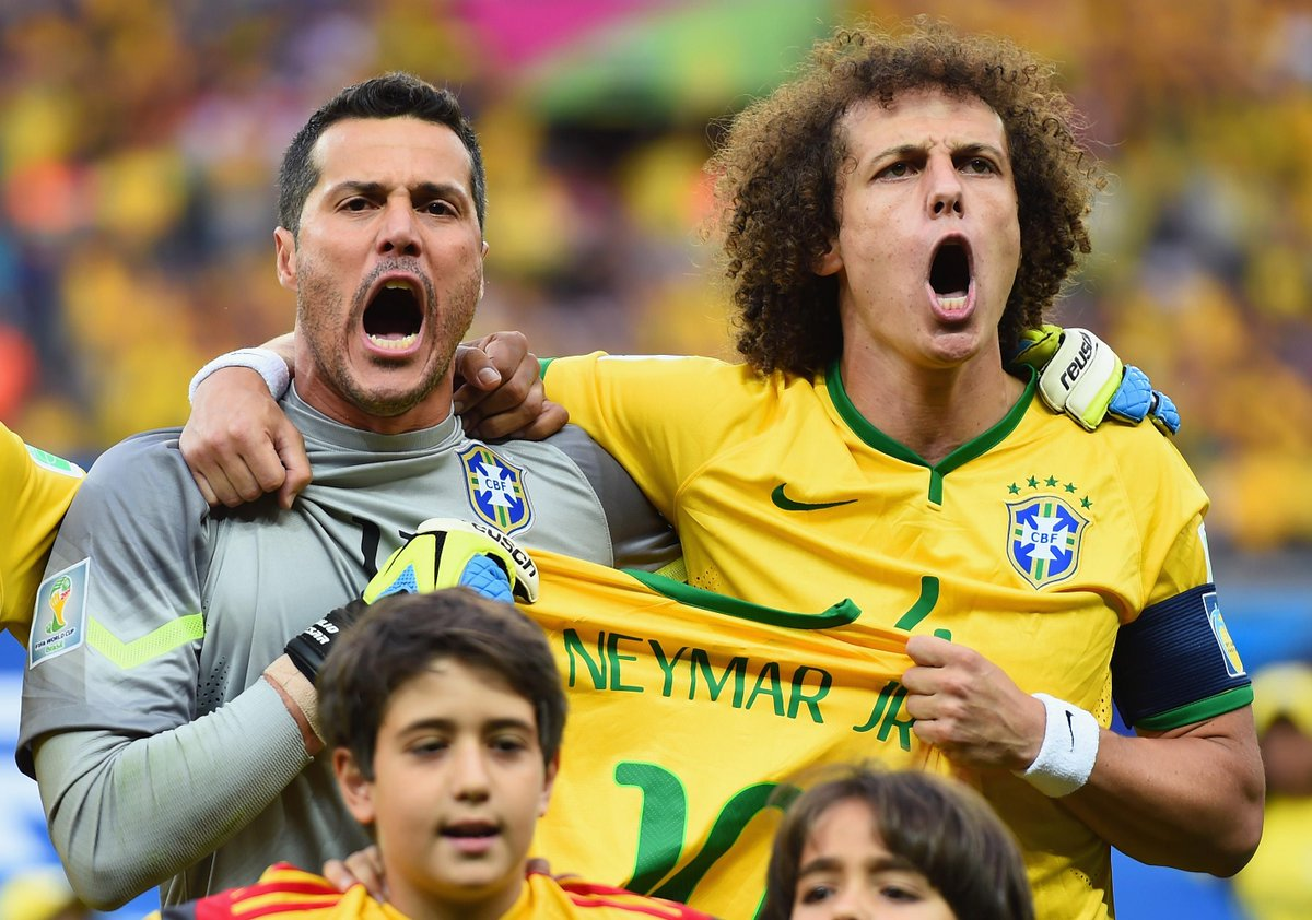 Trending #2 Brazil, #5 in Italy & #6 in Colombia. My daughter & I are like David Luiz & Julio Cesar! #SALUTEFIFAWWC http://t.co/hk4RC8rfSw