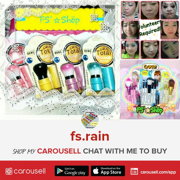 FS.Rain's Shop, blogshop, carousell shop