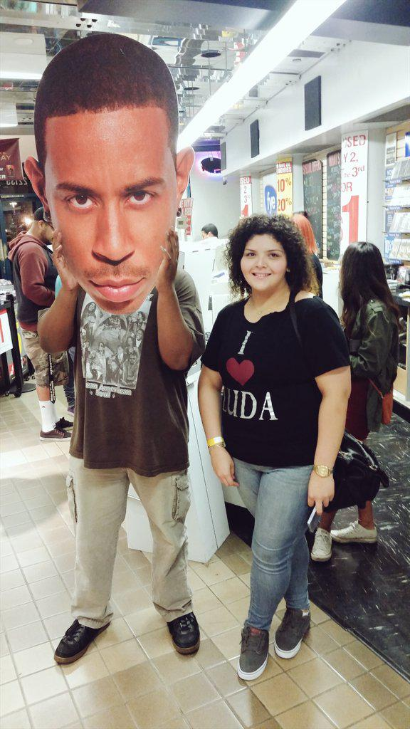 Oh, you know just hanging out with @Ludacris and his big head