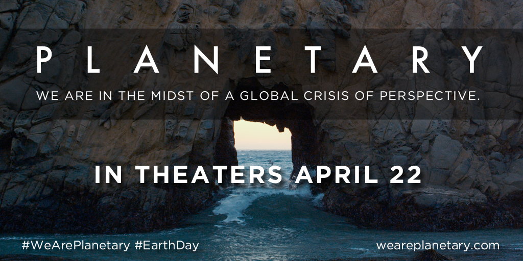 Film Planetary per la giornata della Terra (THE EARTH DAY)