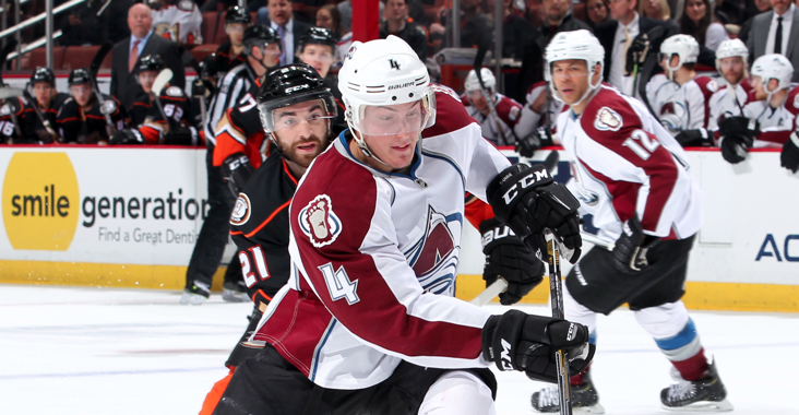 Ozolinsh, Bourque, Blake & now Barrie.  The D-man joined some elite company last night.  MORE: http://t.co/jfTU3iLDni