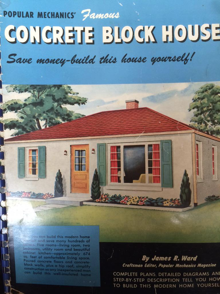 Kiddi on twitter popular mechanics 39 famous concrete for Save money building a house