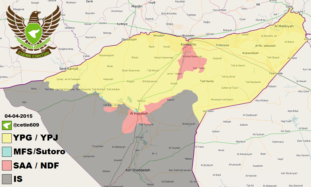 CC News on Twitter MFS YPG SAA IS The situation in Al