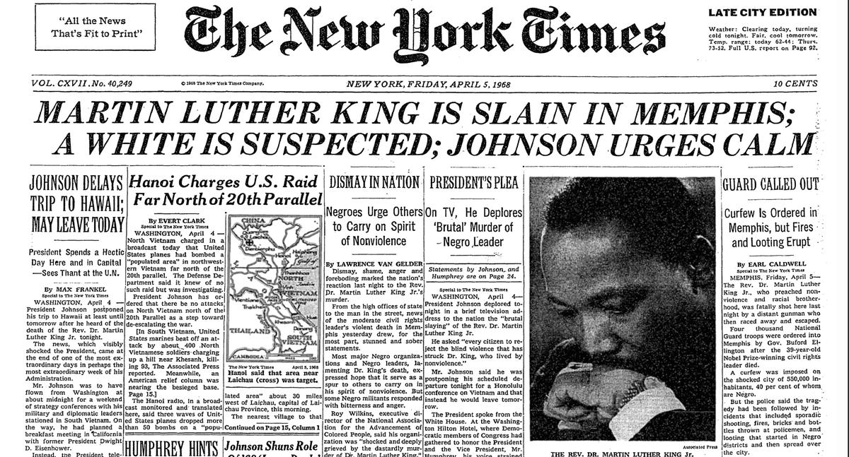 Martin Luther Kings Killer: Thobani Msimang (@Thobani10)